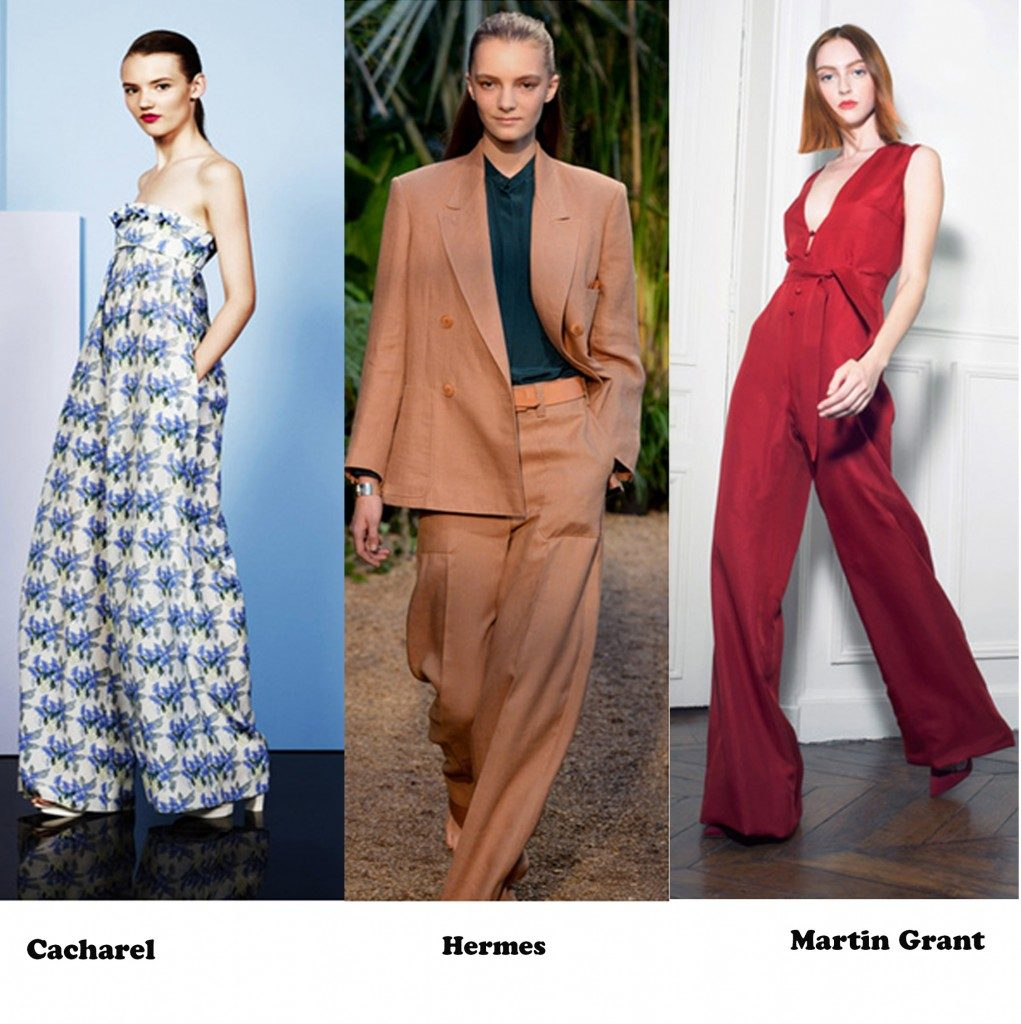 Paris Fashion Week:Spring Summer 2014 Trend Report paris fashion week:spring summer 2014 trend report - palazzo pants 1021x1024 1 1021x1024 - Paris Fashion Week:Spring Summer 2014 Trend Report