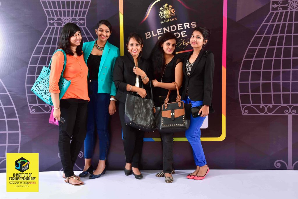 STUDENTS STRIKE A POSE FOR THE SHUTTERBUGS AT THE EVENT  - Bangalore Fashion Week 1 1024x683 - Back to Imagination at the Bangalore Fashion Week