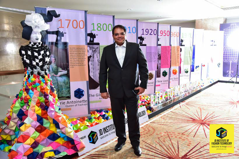 MANAGING TRUSTEE OF JD INSTITUTE OF FASHION TECHNOLOGY, NEALESH DALAL , AT THE EVENT  - Bangalore Fashion Week 9 - Back to Imagination at the Bangalore Fashion Week