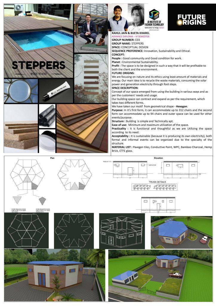 Steppers - Future Origin - JD Annual Design Awards 2017 steppers - Steppers     Future Origin     JD Annual Design Awards 2017 3 724x1024 - Steppers – Future Origin – JD Annual Design Awards 2017