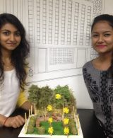 LANDSCAPE MODEL MAKING – ADVANCE DIPLOMA IN INTERIOR DESIGN – BATCH OF 2015