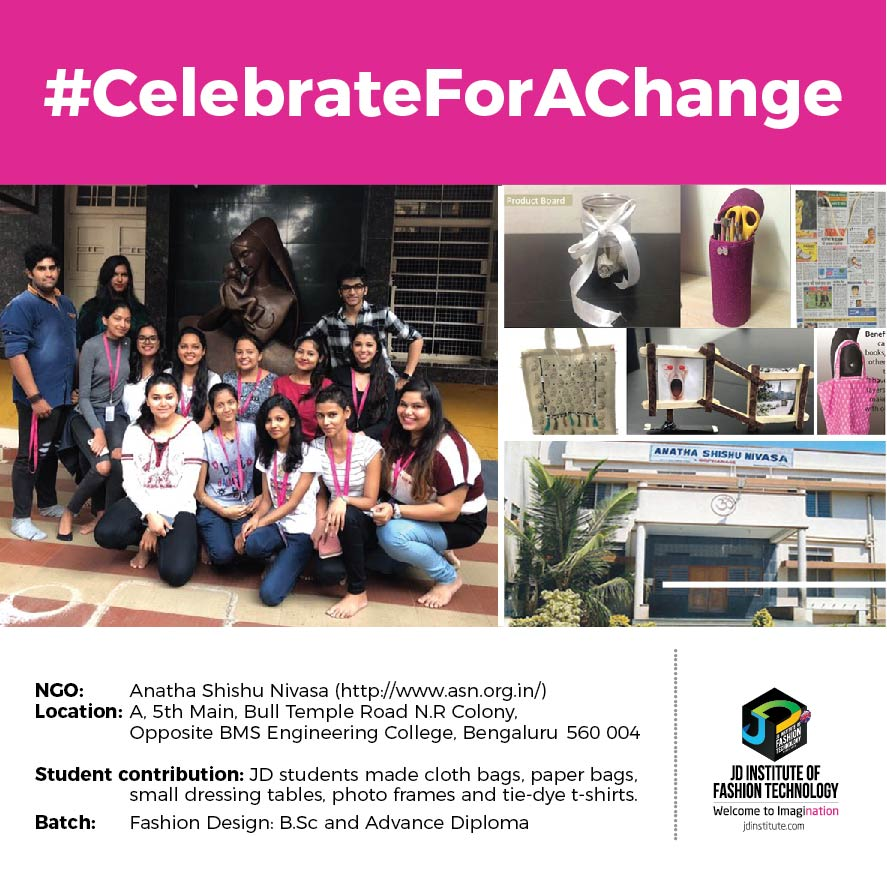 Anatha Shishu Nivasa jd students make a change this diwali - Anatha Shishu - JD Students make a change this Diwali | JD Institute