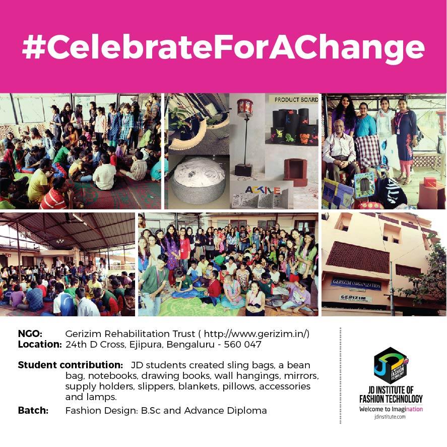 Gerizim Rehabilitation Trust jd students make a change this diwali - Gerizim - JD Students make a change this Diwali | JD Institute