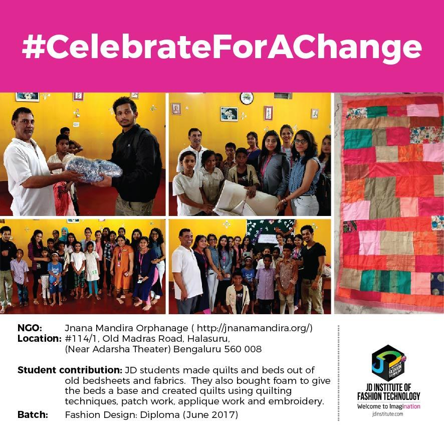 Jnana Mandira jd students make a change this diwali - Jnana - JD Students make a change this Diwali | JD Institute