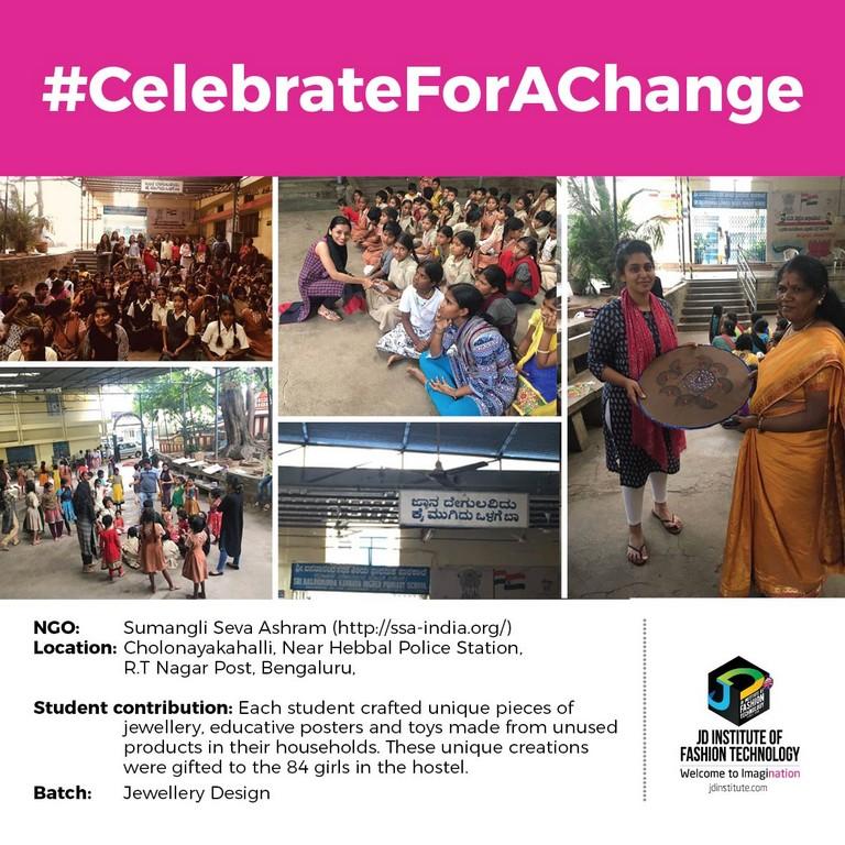 Sumangali Seva Ashrama jd students make a change this diwali - Sumangalii - JD Students make a change this Diwali | JD Institute