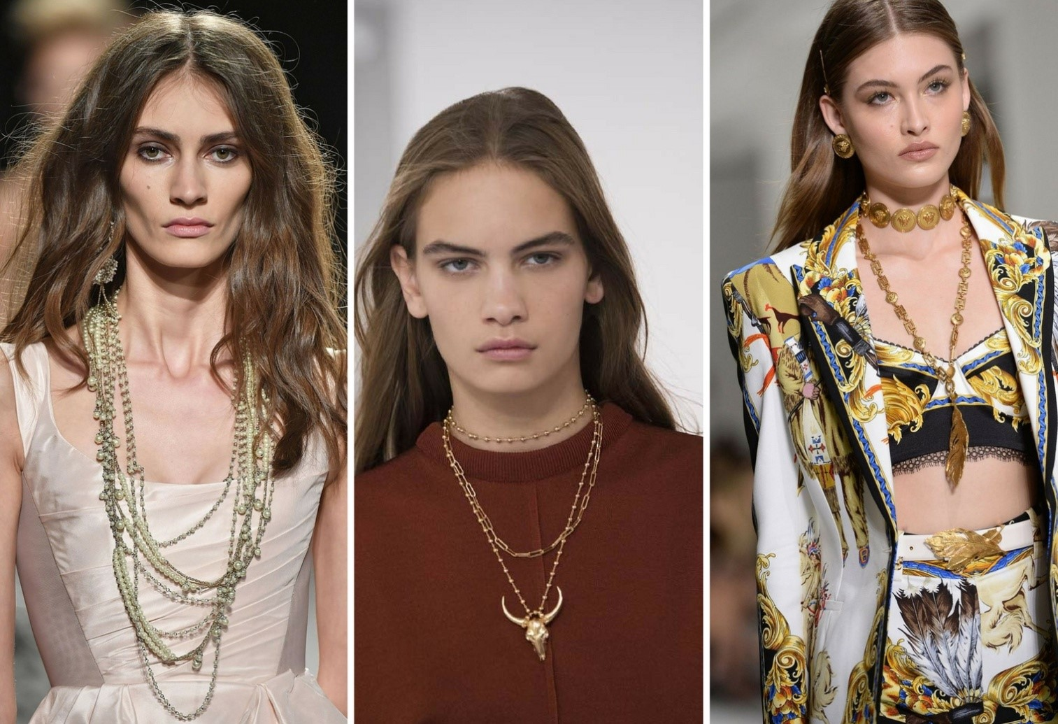 jewellery trends for 2018 - Layered Necklaces - Jewellery trends for 2018 – Bangalore