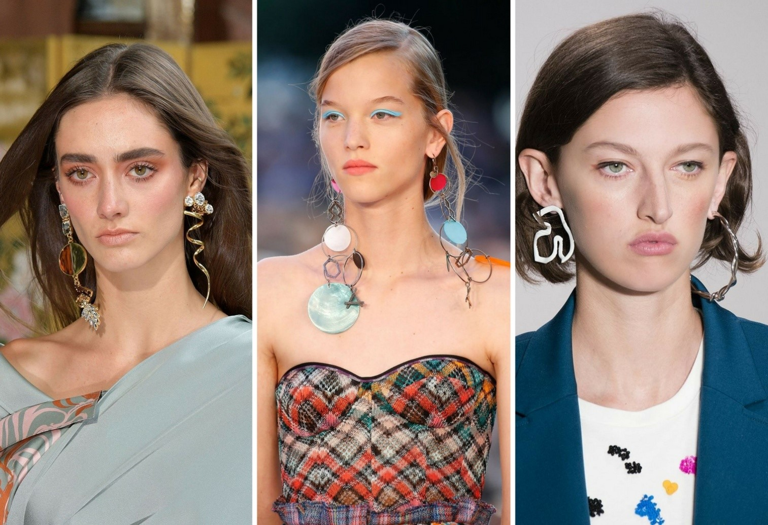 Mismatched Earrings jewellery trends for 2018 - Mismatched Earrings - Jewellery trends for 2018 – Bangalore