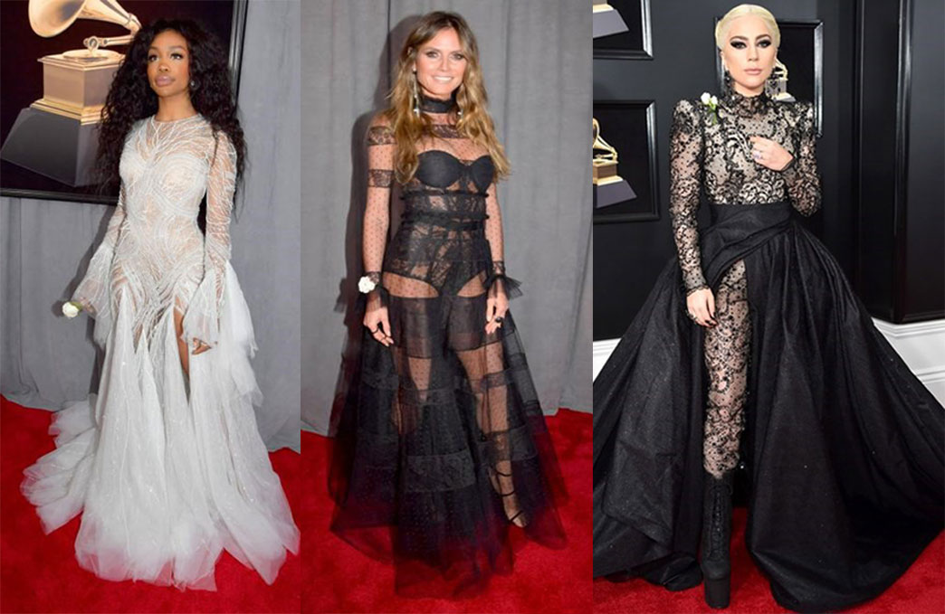 Sheer Garment grammy 2018 - Sheer Garment - Grammy 2018: Red Carpet Review by JD Institute