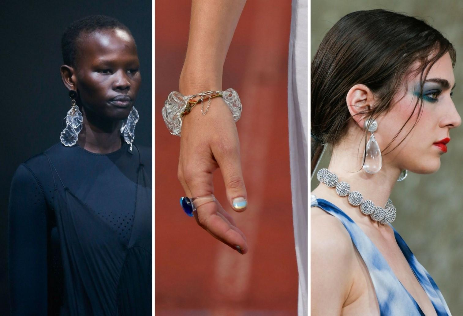 Transparent Jewellery jewellery trends for 2018 - Transparent Jewellery - Jewellery trends for 2018 – Bangalore