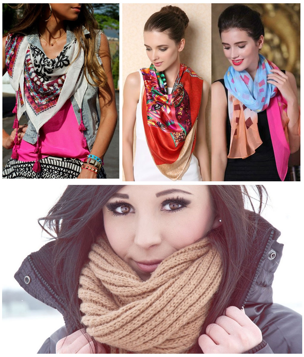 scarf wardrobe essentials for women - scarf - Must have wardrobe essentials for women