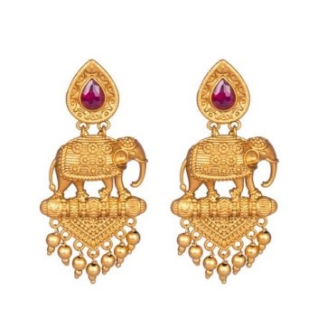 Temple Jewellery a must have for all seasons temple jewellery - Elephant Inspired - Temple Jewellery a must have for all seasons