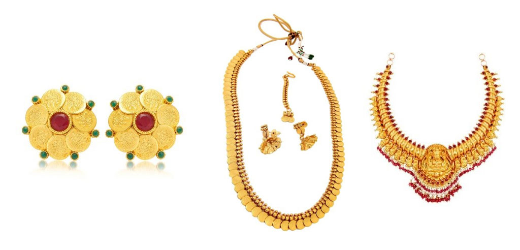 Temple Jewellery a must have for all seasons temple jewellery - Lakshmi coin Inspired - Temple Jewellery a must have for all seasons