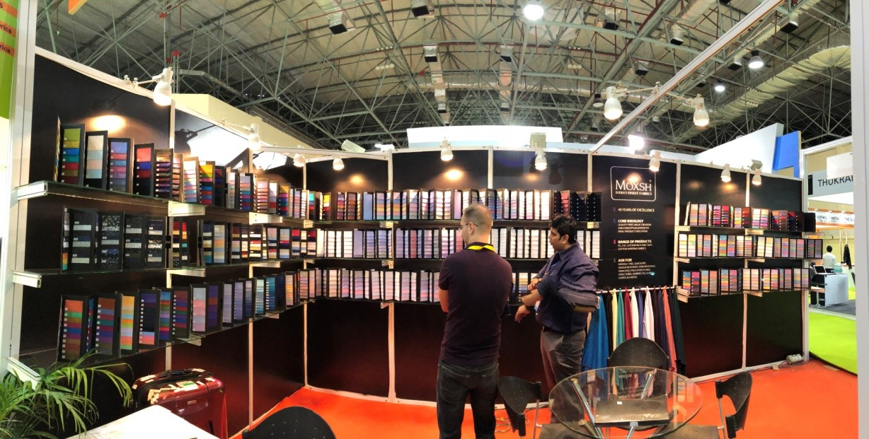 trade show 2018 trade show 2018 - fabrics6 - JD Institute at the Fabrics & Accessories Trade Show 2018