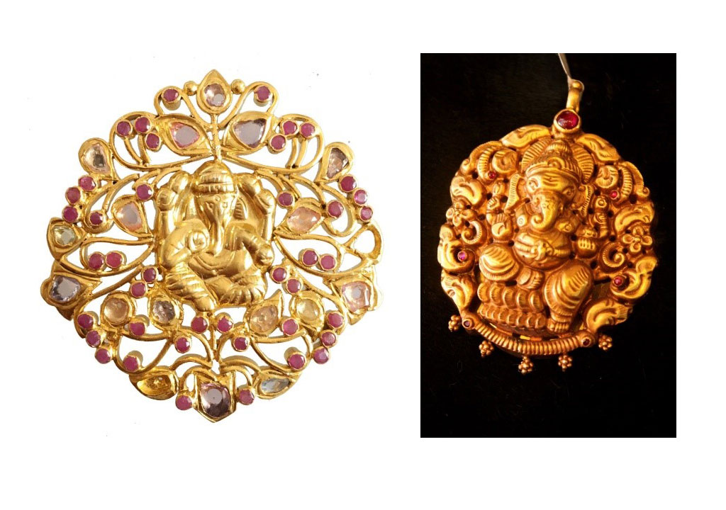 temple jewellery - ganesh inspired - Temple Jewellery a must have for all seasons