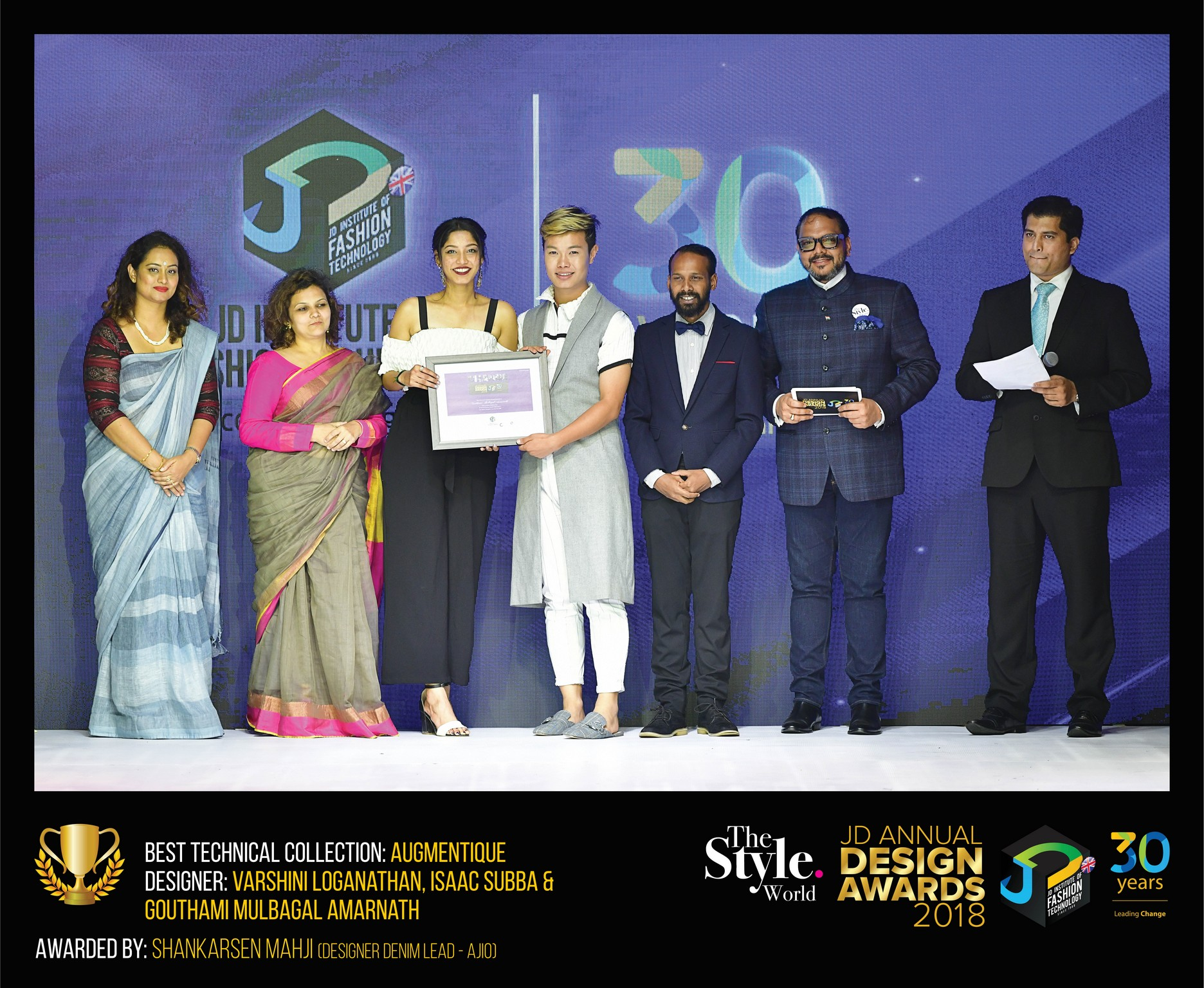 Augmentique – CHANGE – JD ANNUAL DESIGN AWARDS 2018   Designer: Varshini, Issac and Gouthami   Photography : Jerin Nath (@jerin_nath) augmentique - AUGMENTIQUE - Augmentique – Change – JD Annual Design Awards 2018