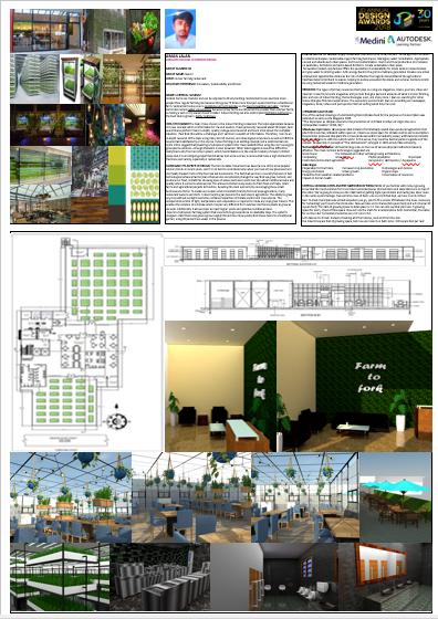 Indoor Farming Restaurant – Change – JD Annual Design Awards 2018 | Designer: Aman Jalan | Photography : Jerin Nath (@jerin_nath) indoor farming restaurant - Agriculatural Restaurant0 - Indoor Farming Restaurant- Change – JD Annual Design Awards 2018