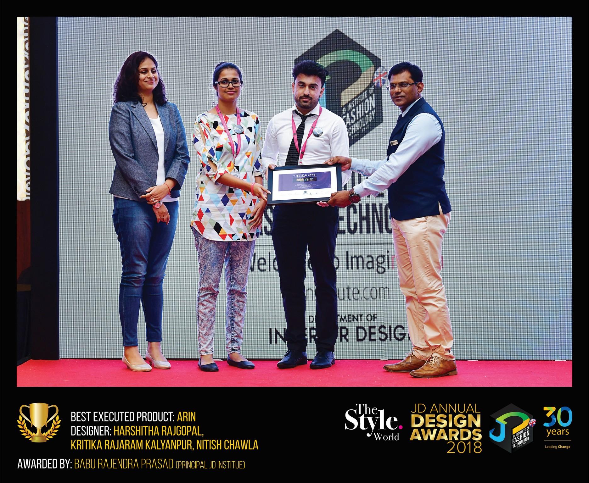 Arin – Change – JD Annual Design Awards 2018 | Designer: Harshitha Rajagopal, Kritika Kalyanpur and Nitish Chawla | Photography : Jerin Nath (@jerin_nath) arin - Arin2 Final - Arin – Change – JD Annual Design Awards 2018