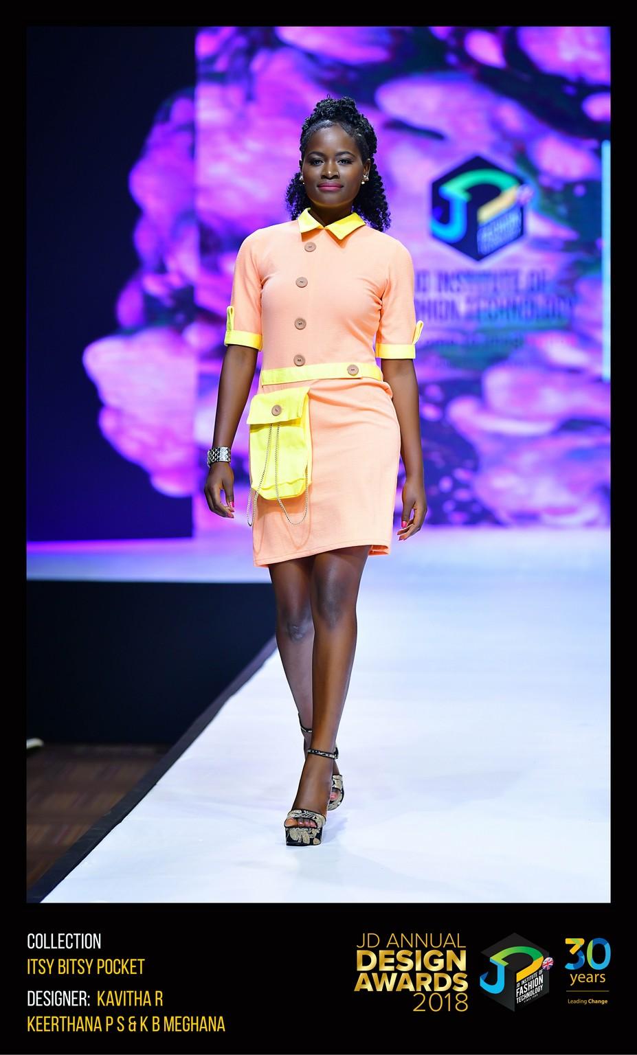 Itsy Bitsy Pocket Dress – Change – JD Annual Design Awards 2018   Designer: Kavitha, Keertana and Meghana   Photography : Jerin Nath (@jerin_nath) itsy bitsy pocket dress - ITSY BITSY POCKET3 - Itsy Bitsy Pocket Dress – Change – JD Annual Design Awards 2018