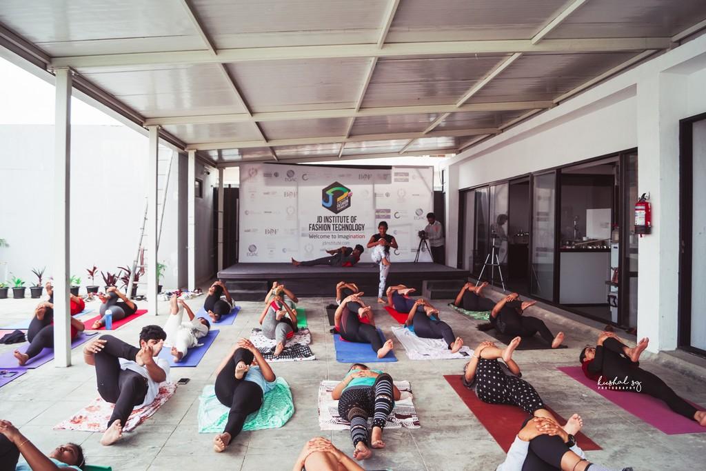 International Yoga Day observed at JD Institute international yoga day observed at jd institute - International Yoga Day4 - International Yoga Day observed at JD Institute