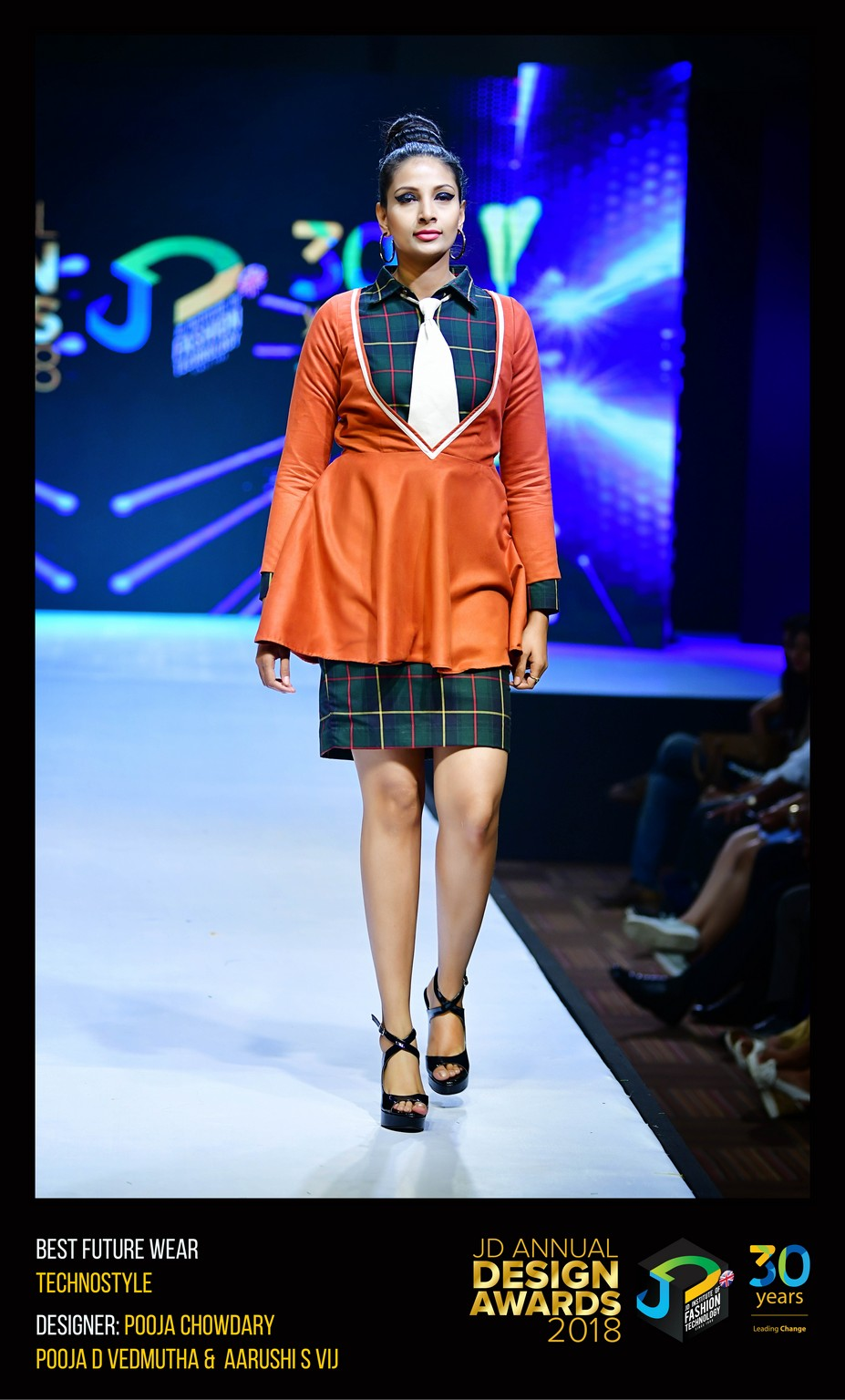 Techno style – Change – JD Annual Design Awards 2018 | Designer: M. Pooja, Pooja.D | Photography : Jerin Nath (@jerin_nath) techno style - Technostyle2 - Techno style – Change – JD Annual Design Awards 2018