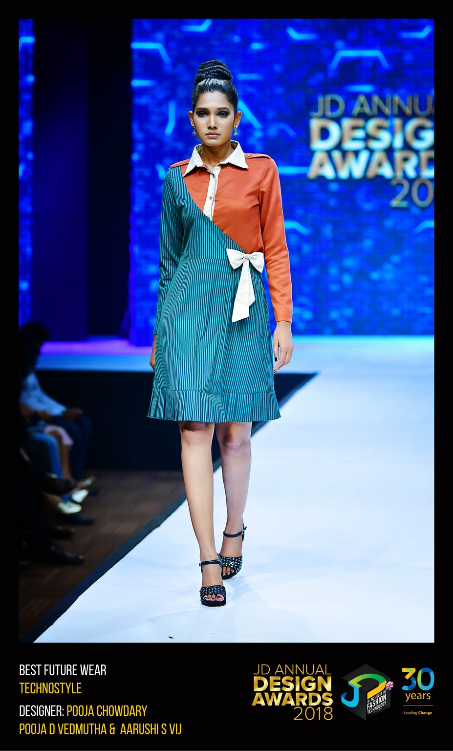 Techno style – Change – JD Annual Design Awards 2018 | Designer: M. Pooja, Pooja.D | Photography : Jerin Nath (@jerin_nath) techno style - Technostyle5 - Techno style – Change – JD Annual Design Awards 2018