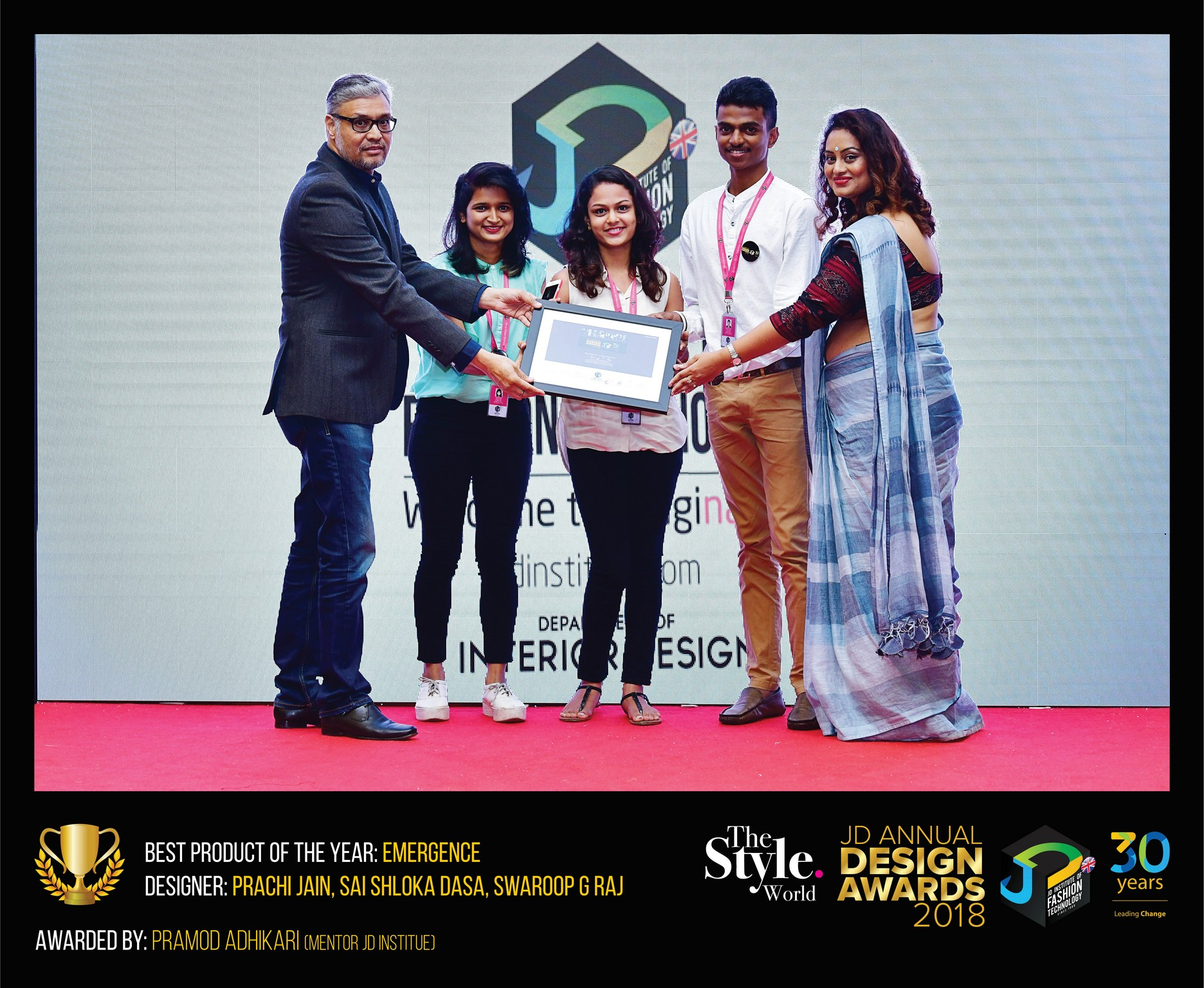 Emergence – Change – JD Annual Design Awards 2018 | Designer: Prachi Jain, Shlokha Dasa and Swaroop G Raj | Photography : Jerin Nath (@jerin_nath) emergence - emergence1 - Emergence –Change – JD Annual Design Awards 2018