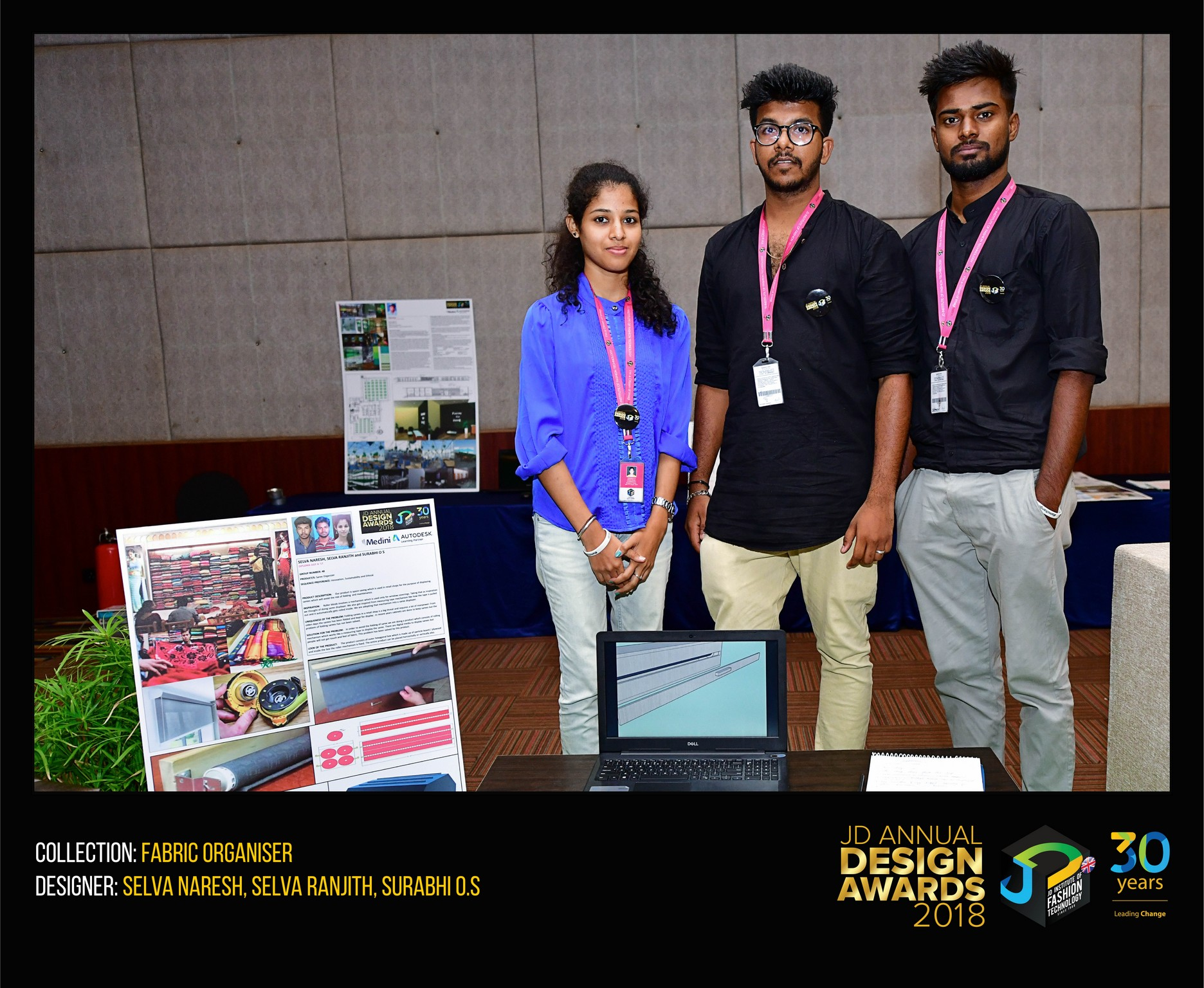 fabric organiser - fabric organiser - Fabric Organiser – Change – JD Annual Design Awards 2018
