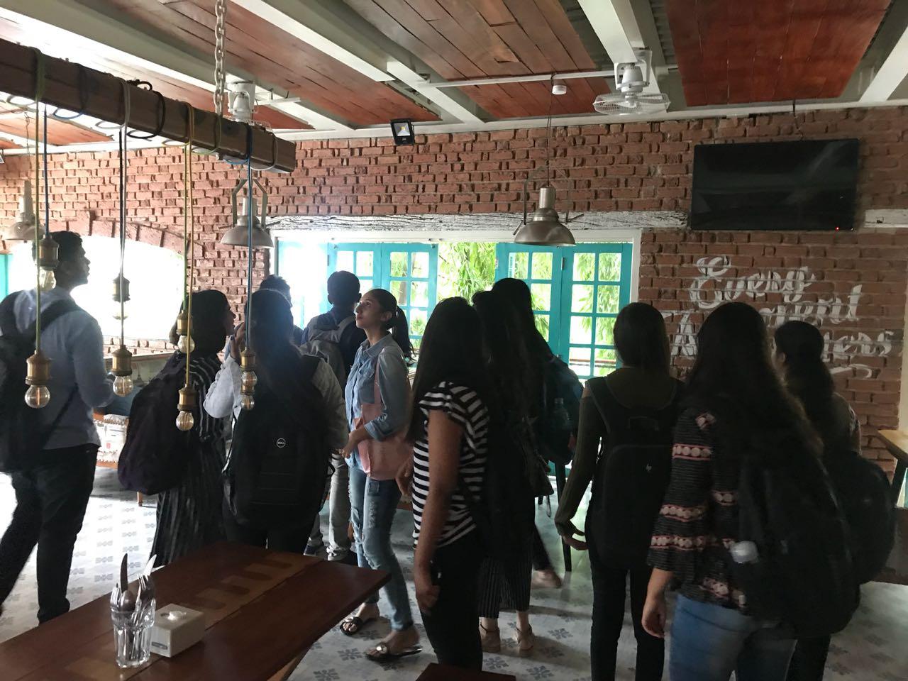 Interior Students at Social & Easy Tiger  interior students - IMG 20180705 WA0024 - Interior Students at Social & Easy Tiger | Site Visit