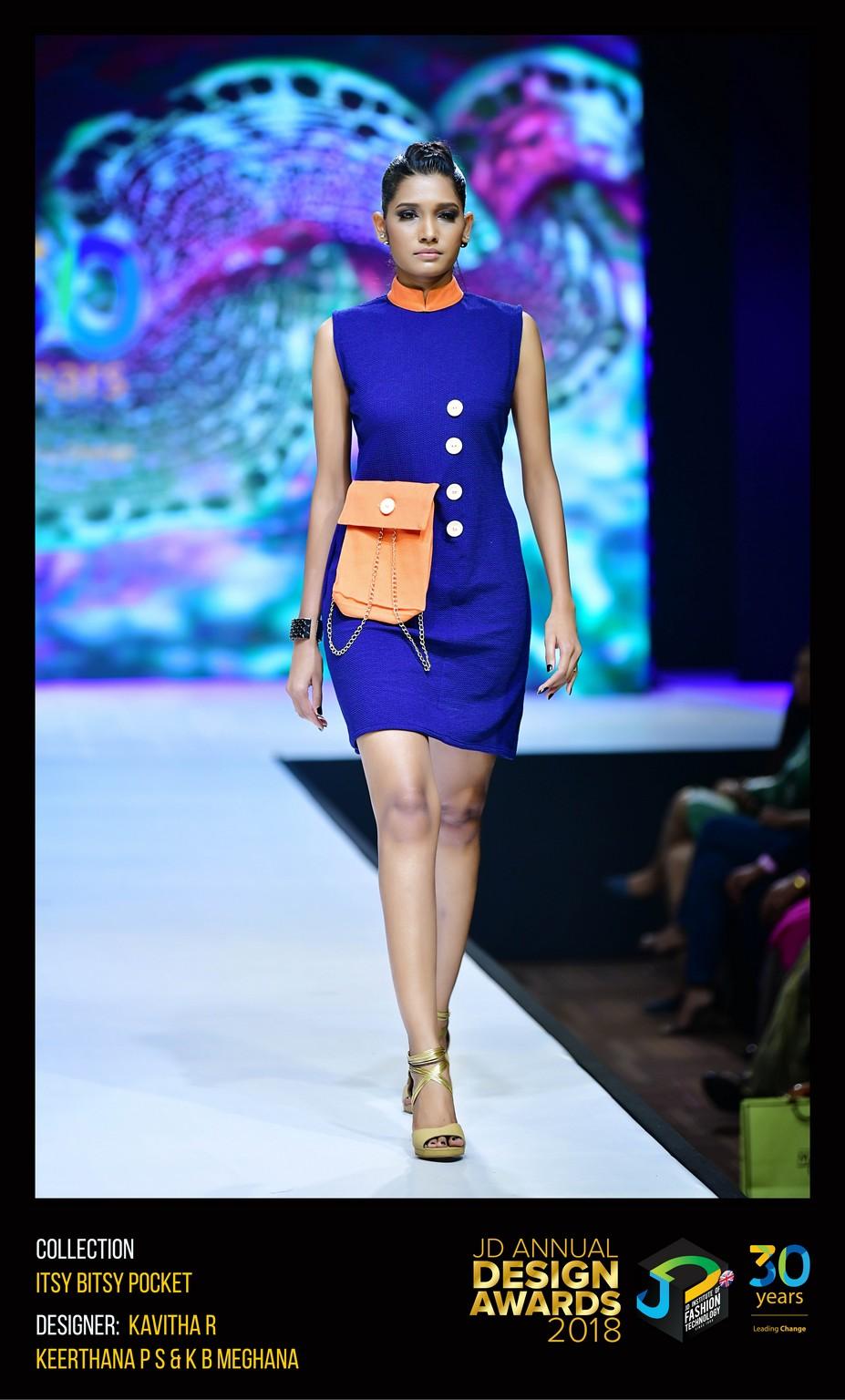 Itsy Bitsy Pocket Dress – Change – JD Annual Design Awards 2018   Designer: Kavitha, Keertana and Meghana   Photography : Jerin Nath (@jerin_nath) itsy bitsy pocket dress - ITSY BITSY POCKET6 - Itsy Bitsy Pocket Dress – Change – JD Annual Design Awards 2018
