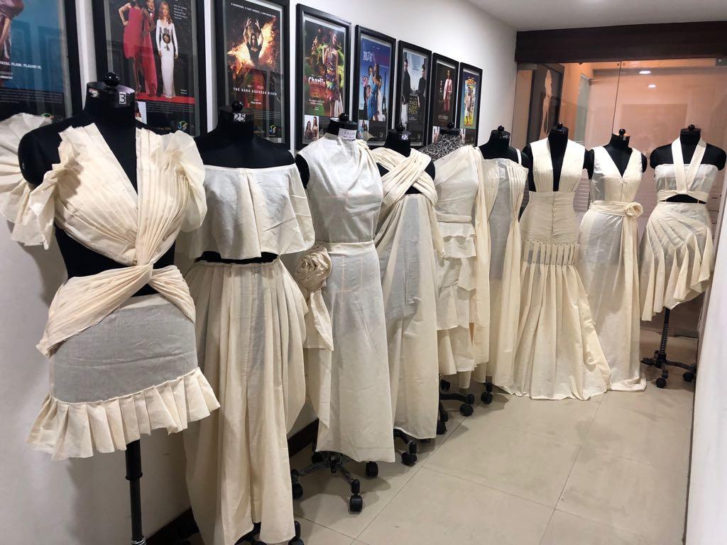 art of fashion draping in fashion designing - fashion draping11 final - Art of Fashion Draping in Fashion designing | JD Institute