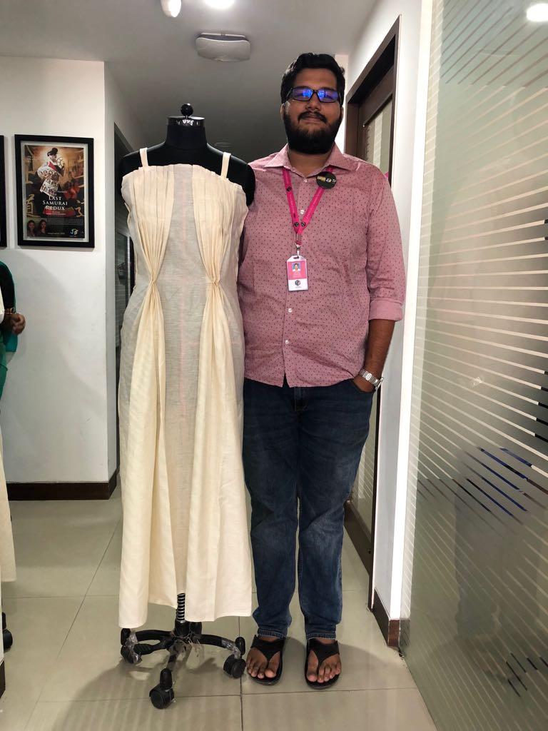 Art of Fashion Draping in Fashion designing art of fashion draping in fashion designing - fashion draping5 - Art of Fashion Draping in Fashion designing | JD Institute