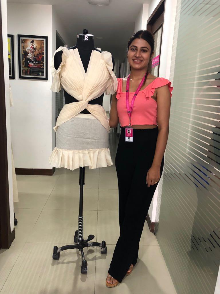 Art of Fashion Draping in Fashion designing art of fashion draping in fashion designing - fashion draping6 - Art of Fashion Draping in Fashion designing | JD Institute