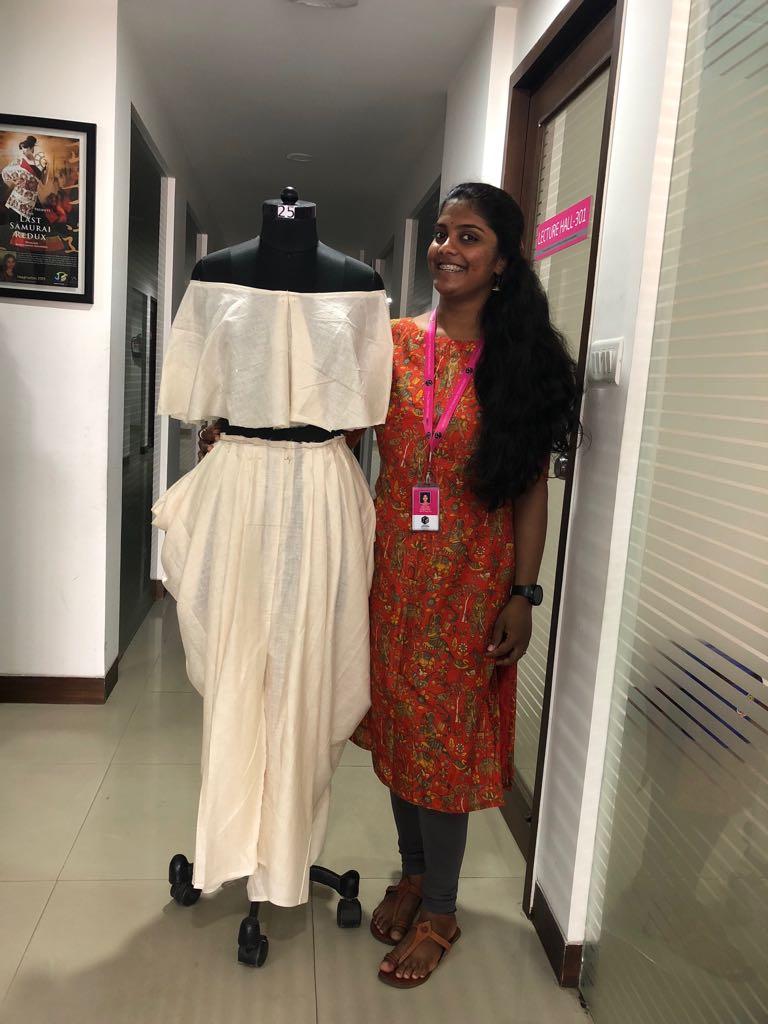 Art of Fashion Draping in Fashion designing art of fashion draping in fashion designing - fashion draping7 - Art of Fashion Draping in Fashion designing | JD Institute