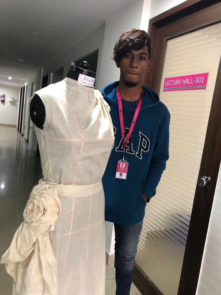 Art of Fashion Draping in Fashion designing art of fashion draping in fashion designing - fashion draping8 - Art of Fashion Draping in Fashion designing | JD Institute