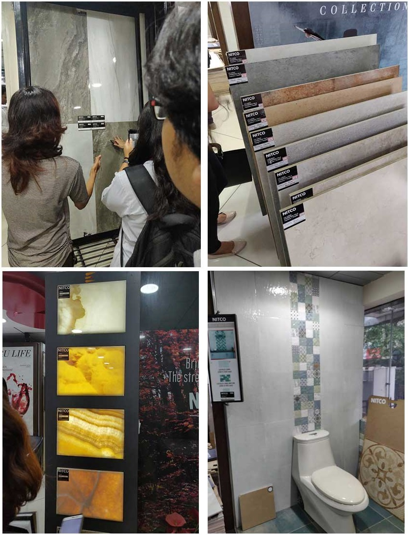 Interior Design Students make the most of the Industrial Visit interior design students make the most of the industrial visit - interior nitco2 - Interior Design Students make the most of the Industrial Visit