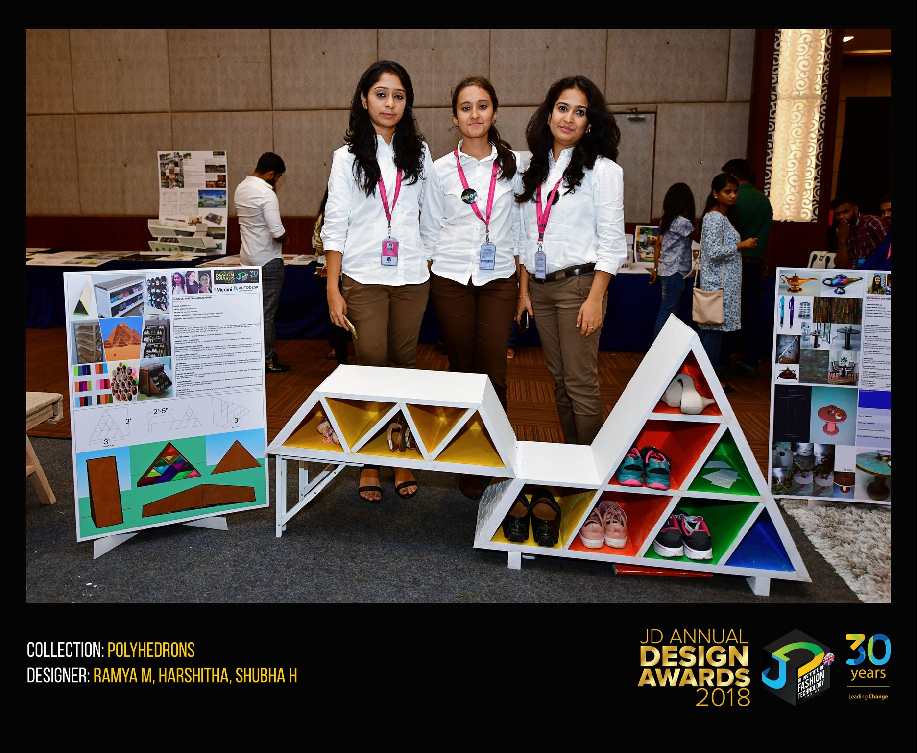 polyhedrons - polyhedrens - POLYHEDRONS – Change – JD Annual Design Awards 2018