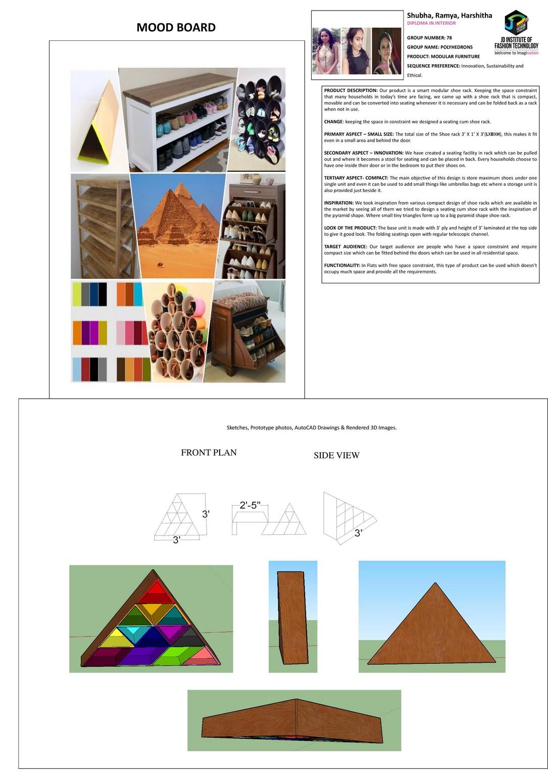 POLYHEDRONS – Change – JD Annual Design Awards 2018 | Designer: Ramya M, Harshitha, Shubha H | Photography : Jerin Nath (@jerin_nath)  polyhedrons - polyhedrens1 - POLYHEDRONS – Change – JD Annual Design Awards 2018