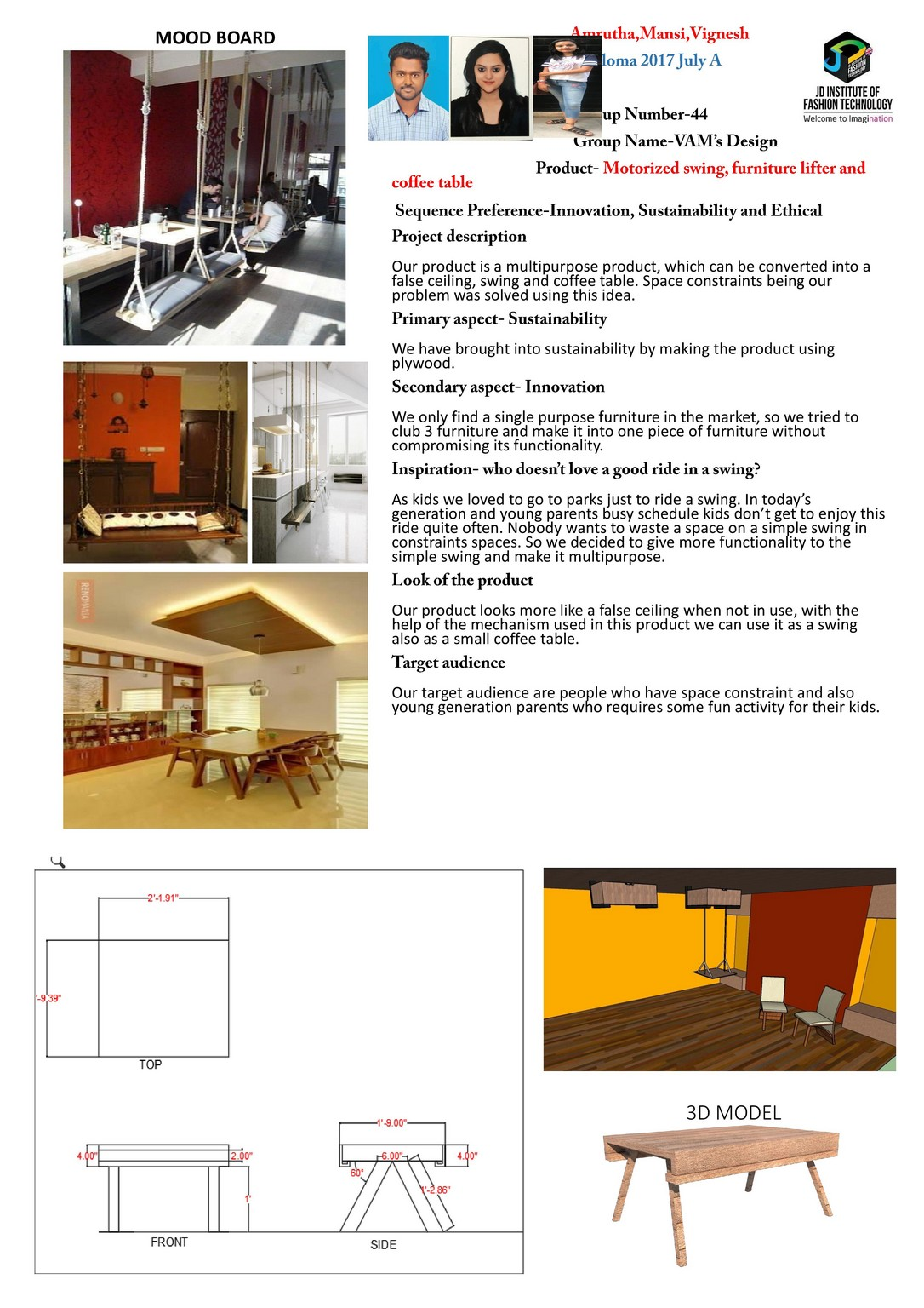 Vam's Design – Change – JD Annual Design Awards 2018 | Designer: Amrutha, Mansi and vignesh | Photography : Jerin Nath (@jerin_nath) vam's design - vams design1 - Vam's Design – Change – JD Annual Design Awards 2018