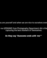"JEDIIIANS observing world photography Day 2018 with the theme ""BE NICE"""