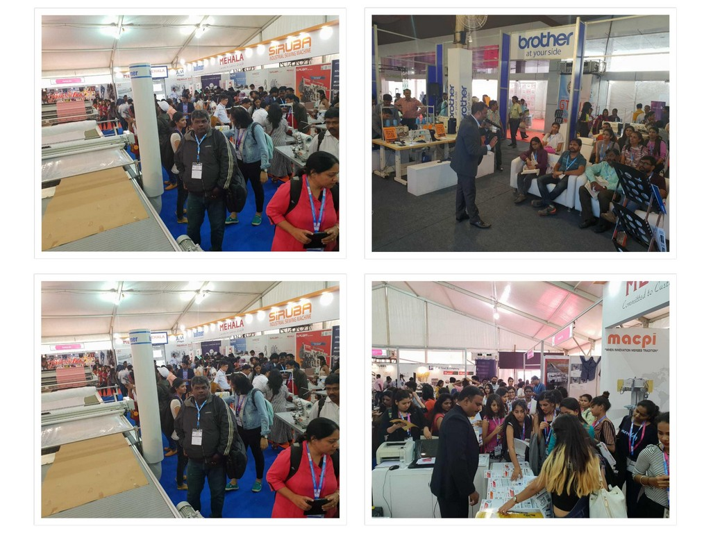Visit to Garment Technology Expo 2018 visit to garment technology expo 2018 - Garment Technology Expo 2018 24 - Visit to Garment Technology Expo 2018 | JD Institute Bangalore