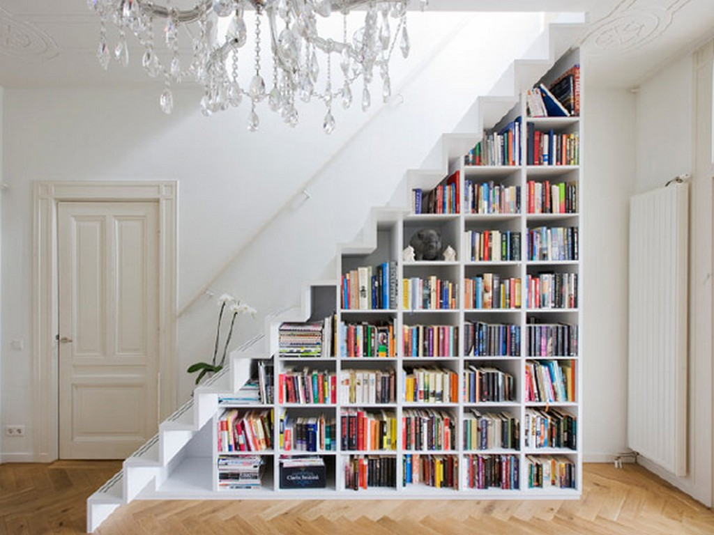 How to transform small spaces into creative havens how to transform small spaces - shelves - How to transform small spaces into creative havens