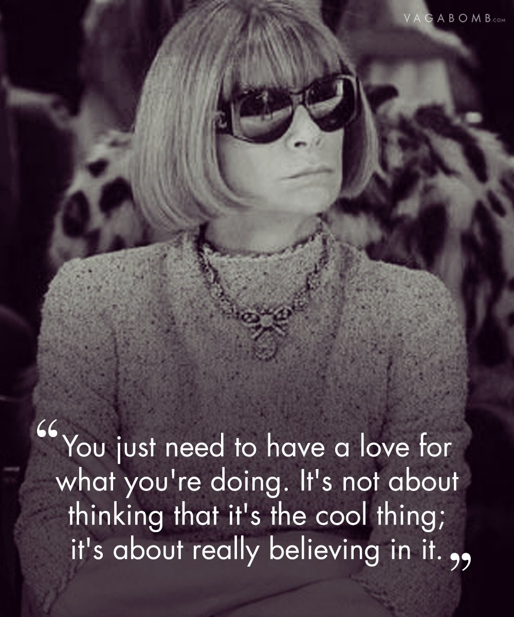 The Fashion Power House Anna Wintour the fashion power house - 1 1 - The Fashion Power House Anna Wintour and her top 10 rules