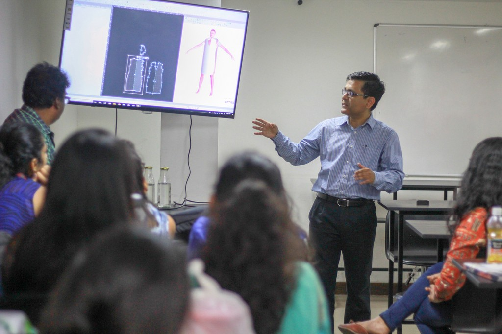 session on Digital Pattern Making with Optitex  fashion department - Optitex 2 - A session on Digital Pattern Making with Optitex   Fashion Department