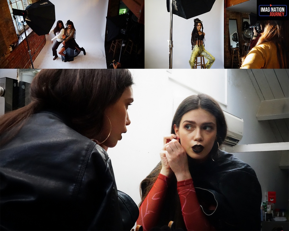 maximising the study abroad experience- jd institute x london college of fashion - Shoot day - Maximising the study abroad experience- JD Institute x London College of Fashion