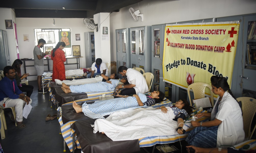 Blood Donation Camp at JD Institute blood donation camp at jd institute - Blood Donation 7 - Blood Donation Camp at JD Institute