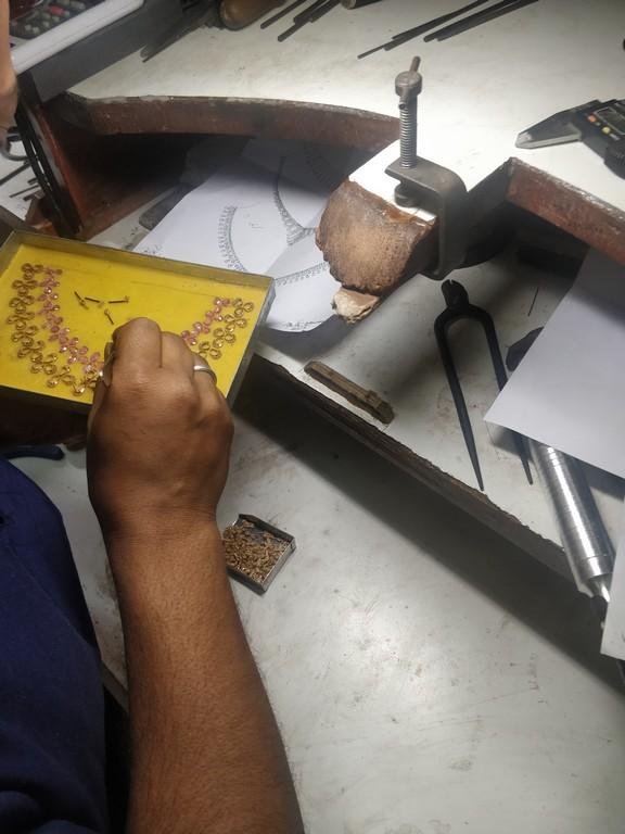 Factory visit to Nikhaar Jewels | Jewellery Dept factory visit to nikhaar jewels - Nikhaar 1 - Factory visit to Nikhaar Jewels | Jewellery Dept