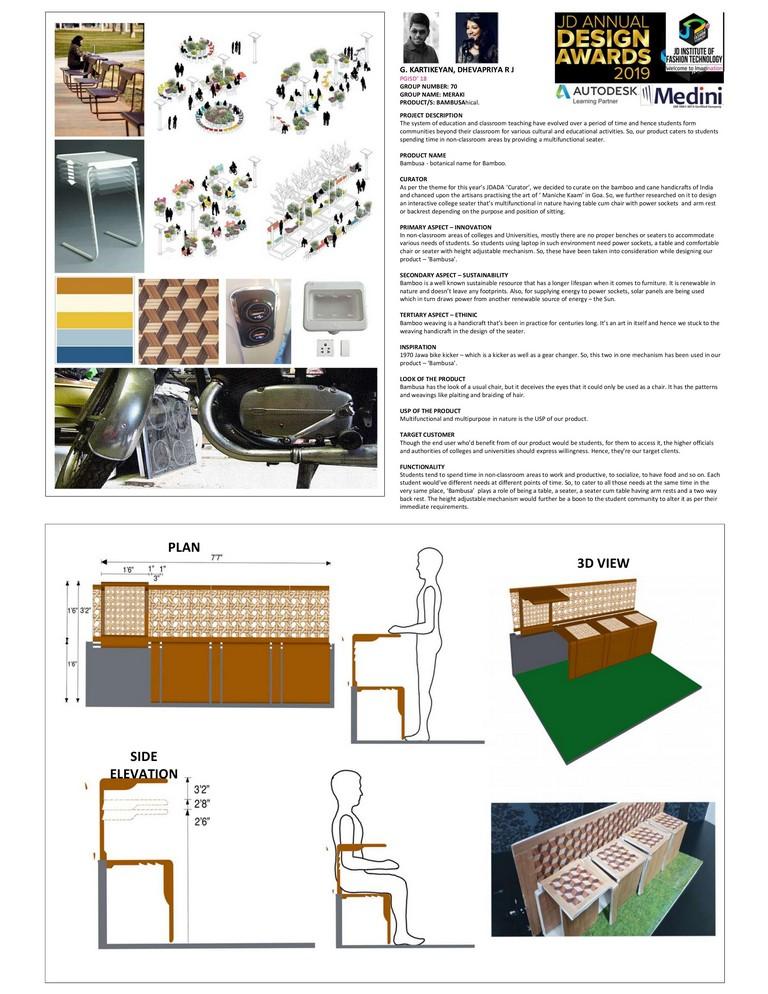 Bambusa bambusa - 0001 2 - Bambusa – Curator- JD Annual Design Awards 2019-Interior Design