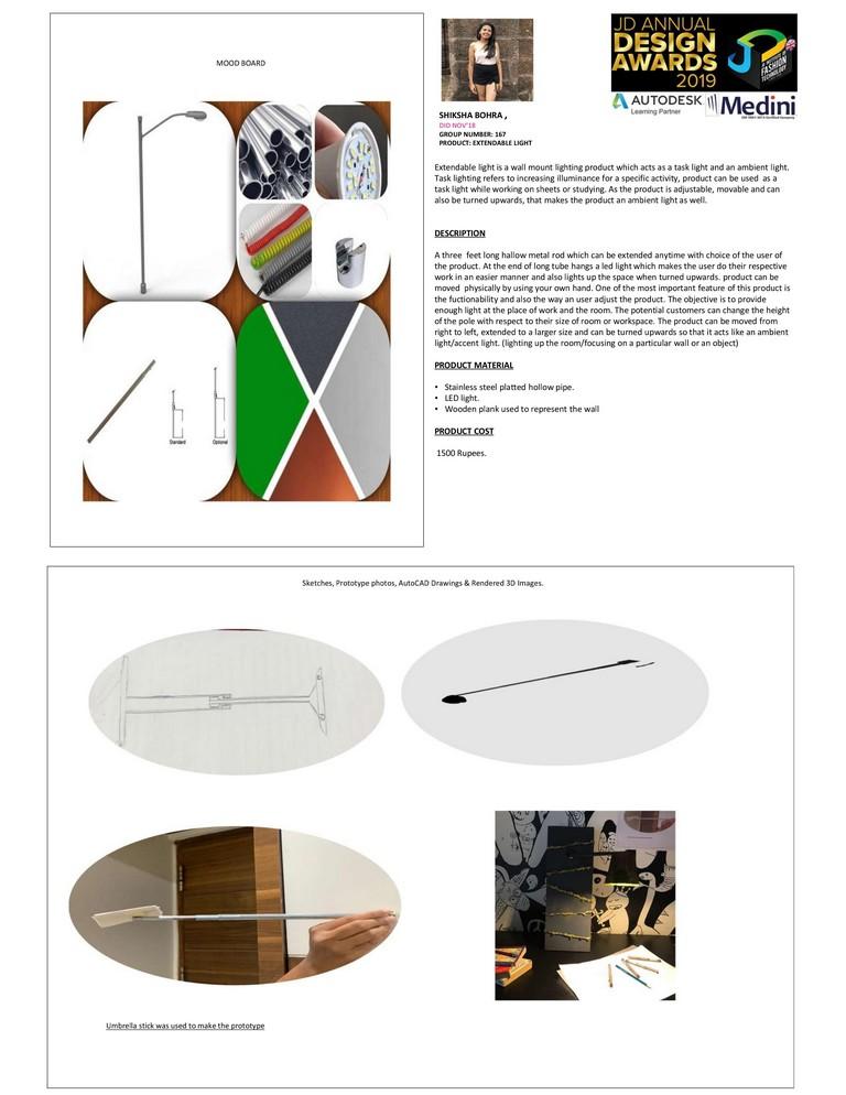 Extendable Light extendable light - 0001 3 - Extendable Light – Curator – JD Annual Design Awards 2019 – Interior Design.