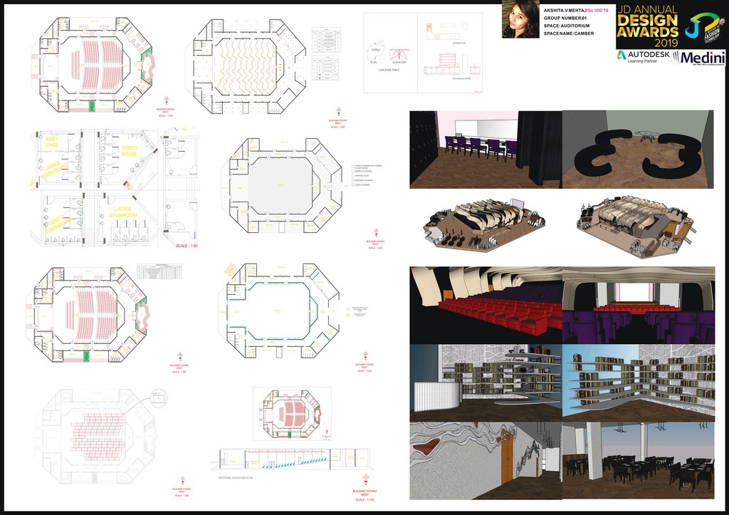 Auditorium auditorium - 0002 1 - Auditorium – Curator – JD Annual Design Awards 2019 – Interior Design