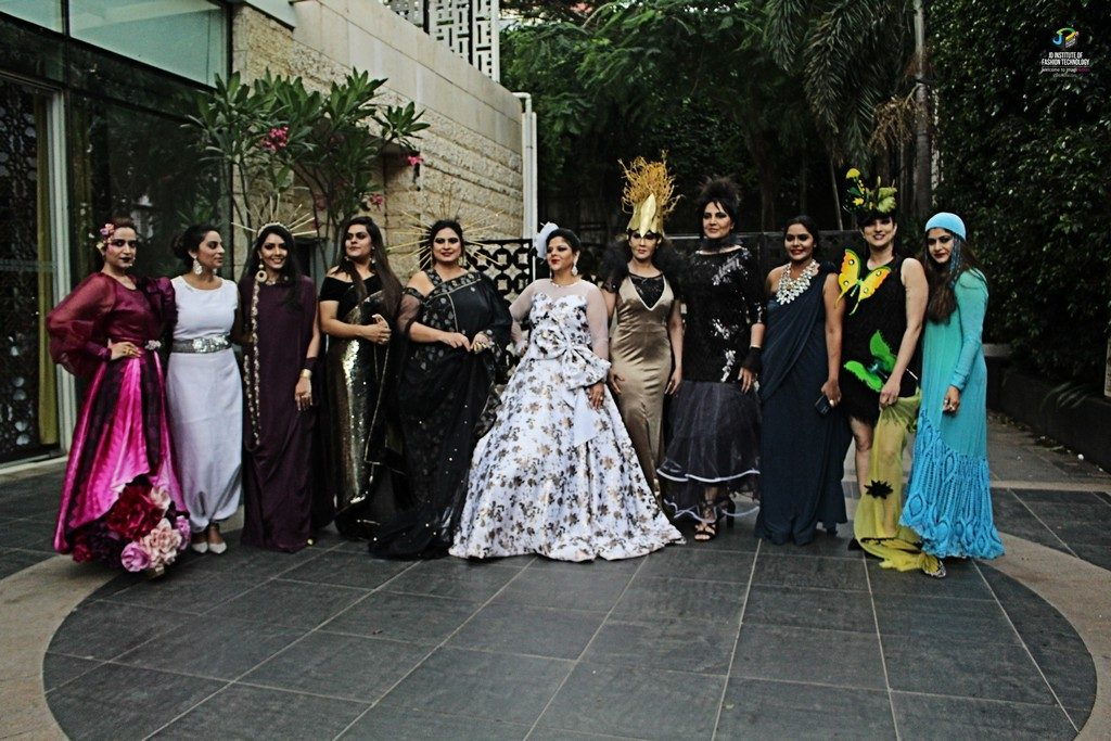jd institute of fashion technology - IMG 8272 1024x683 - Gallimaufry – The sophisticated red carpet look by JD Institute Of Fashion Technology